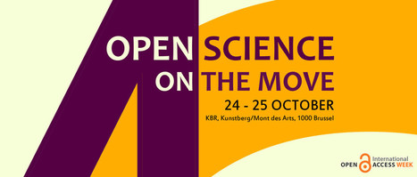 Join the Belgian Open Access week event: 'Open Science on the move' 24-25 October 2016 | Open-Up Public Science! | Scoop.it