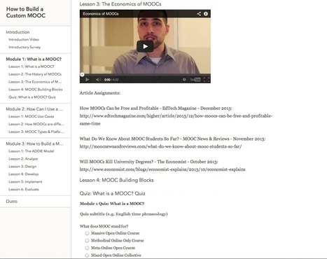 Building Your Own Online Class? - How To Choose the MOOC Platform - moocnewsandreviews.com | Web Programming | Scoop.it