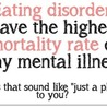 Eating Disorders, The Truth About Them