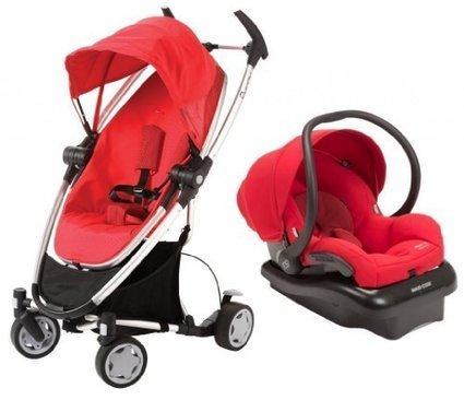 Red Guzzie+Guss G+G 1+1 Gabriola Stroller 2nd Seat