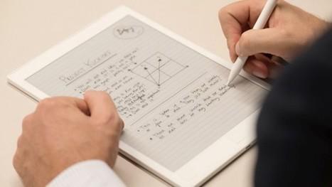 Cette tablette E-Ink géante voudrait rendre le papier obsolète… | e-paper - e-ink - le papier électronique - écran flexible | Scoop.it