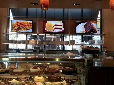 BrightSign Brings Digital Signage To The Cheesecake Factory ... | The Meeddya Group | Scoop.it
