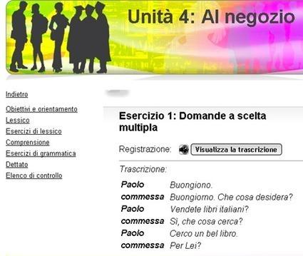 Početni, srednji i napredni kursevi jezika | Italijanski online | Scoop.it