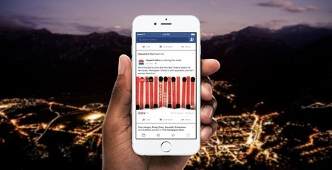 Introducing Live Audio | Facebook Media | screen seriality | Scoop.it