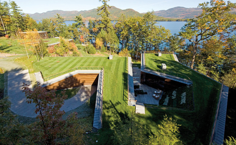 Lakeside Retreat | Peter Gluck and Partners | sustainable architecture | Scoop.it