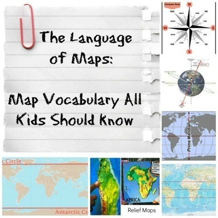 The Language of Maps Kids Should Know | GCSE Geography Resources | Scoop.it