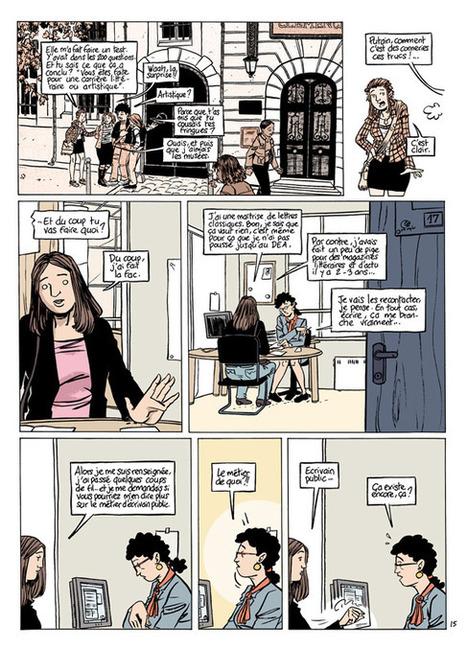 Écrivain public, ça existe encore ? Ma Vie d'adulte (BD), avril 2012 - Plume et Buvard | Conseil en écriture privée et professionnelle, écrivain public diplômée d'Etat | Scoop.it