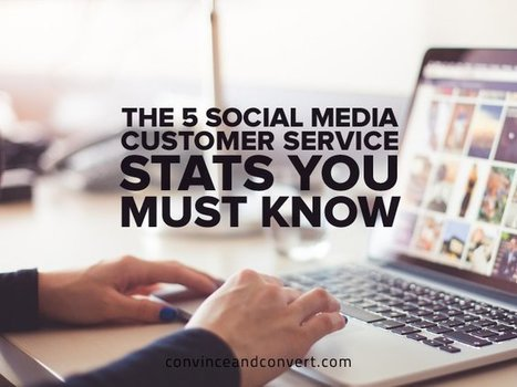 The 5 Social Media Customer Service Stats You Must Know | Online tips & social media nieuws | Scoop.it