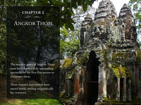 Cambodge : les temples d'Angkor sur une application iPad | Merveilles - Marvels | Scoop.it