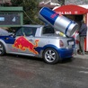 Mini Cooper converted to Red Bull car