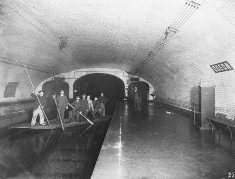 Photos inédites du métro parisien – Metro | GenealoNet | Scoop.it