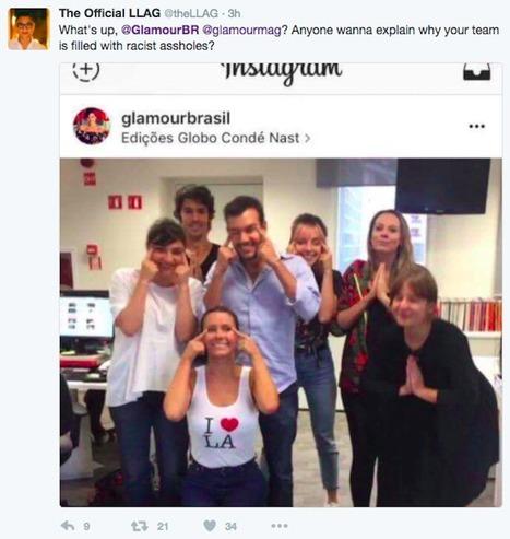 Glamour Brasil Feeling Heat from Slanty Eye Instagram Post | SocialMediaFB | Scoop.it