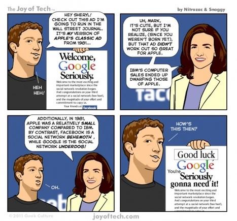 Google + pour contrer Facebook : Menace réelle ou tentative vouée à l'échec?   Actualité des médias sociaux   Scoop.it