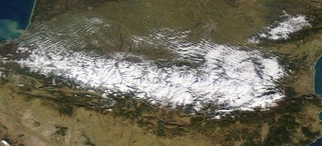 Les Pyrénées vues d'en haut : du blanc partout | Vallée d'Aure - Pyrénées | Scoop.it