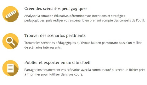 Outil d'aide à la scénarisation pédagogique | Pédagogie Idées et techniques | Scoop.it