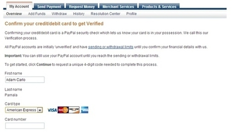 How to Verify PayPal account using Globe GCash