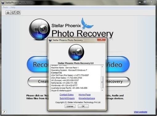 stellar phoenix photo recovery 8.0.0.1 keygen