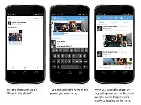 Nouveautés sur Twitter: identifier les gens sur les photos et jusqu'à 4 photos par tweet | Médias sociaux | Scoop.it