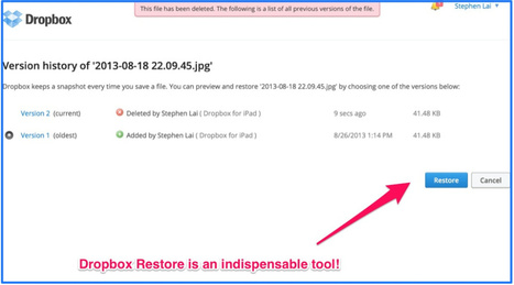 TeachingwithiPad.org: Dropbox for Dummies: Why You Shouldn't Need Your USB Key Again | Teaching Science | Scoop.it
