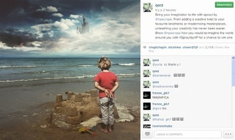 Instagram, un réseau social pertinent pour les marques ? | Management et promotion | Scoop.it
