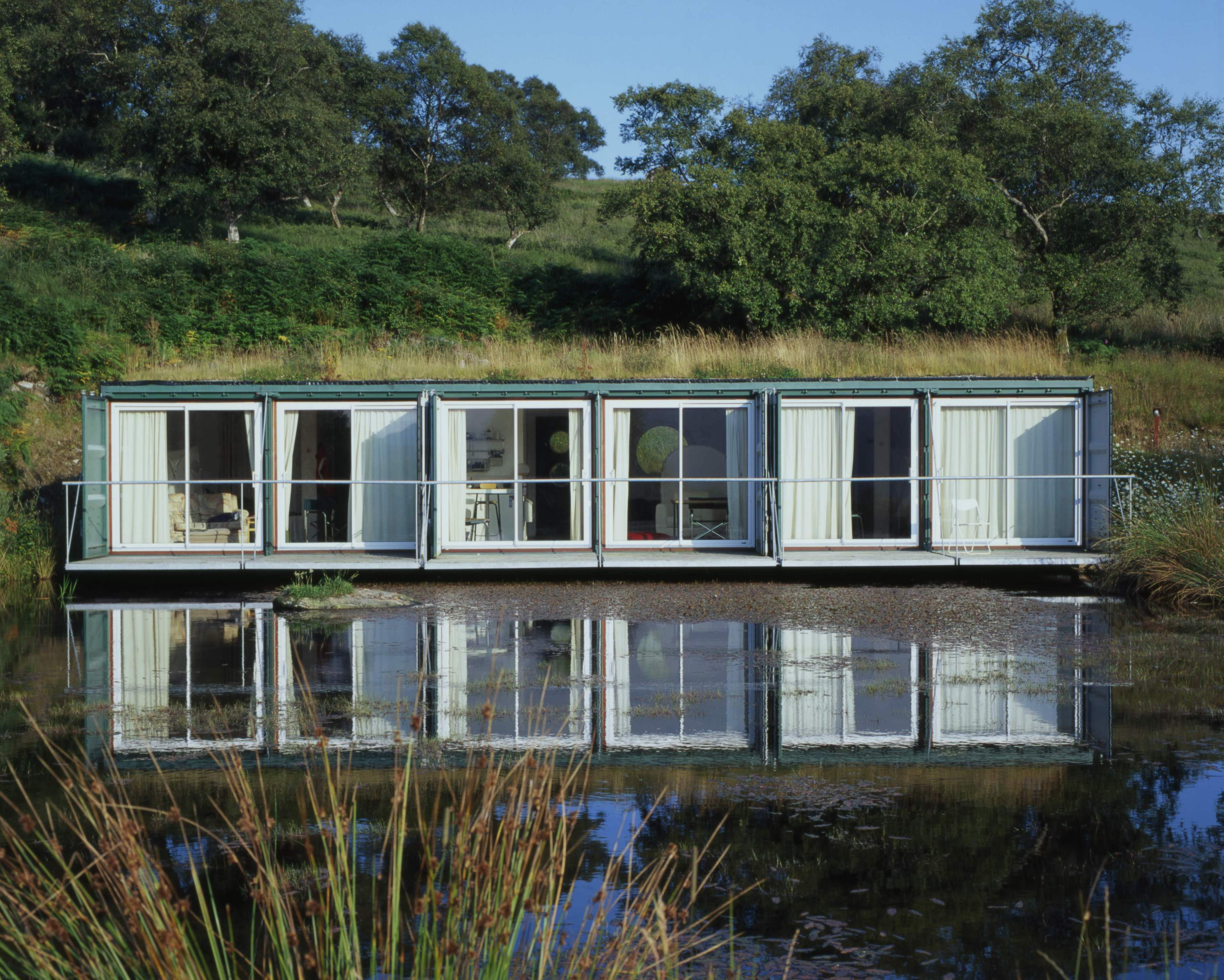 Comment vivre dans une maison container bui for Maison container green habitat