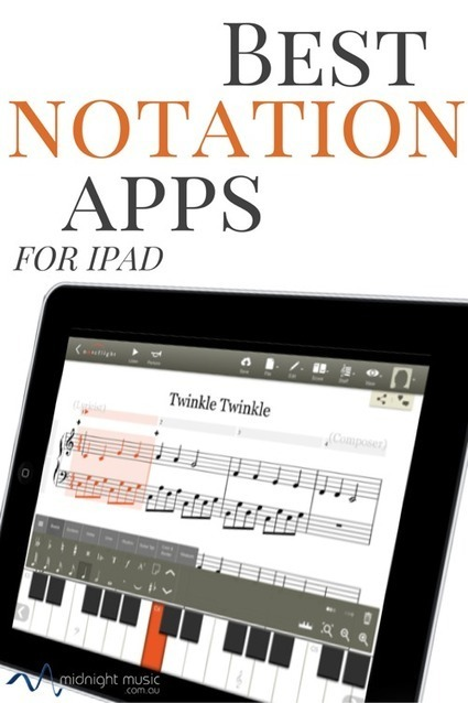 Best Music Notation Apps for iPad | Midnight Music | Music Technology | Scoop.it