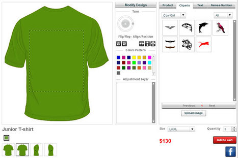 Custom T Shirt Design Tool For Designing Custom