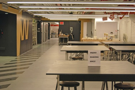 Exclusive Preview of Parsons' New Making Center - A Collaborative Space for Exploration at the New School | Digital Design and Manufacturing | Scoop.it