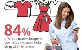 Mobile search helps 84 percent of in-store shoppers make purchase decisions   Moving Target Media™   Scoop.it