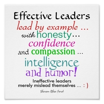 Effective Leaders - Character Traits - Small - SRF   High-Performance Work Culture   Scoop.it