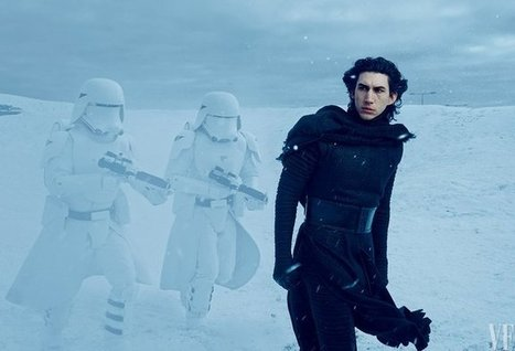 Adam Driver and Lupita Nyong'o's Character Revealed in Exclusive Star Wars: The Force Awakens Photos | L'Empire du côté obscure | Scoop.it