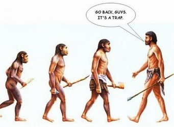 The human evolution   A Sense of the Ridiculous   Scoop.it