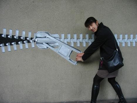 Unzip Your Love For Public Art | Best Urban Art | Scoop.it