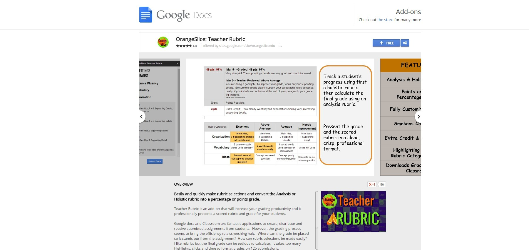 Orangeslice teacher rubric google docs add o orangeslice teacher rubric google docs add o fandeluxe Images