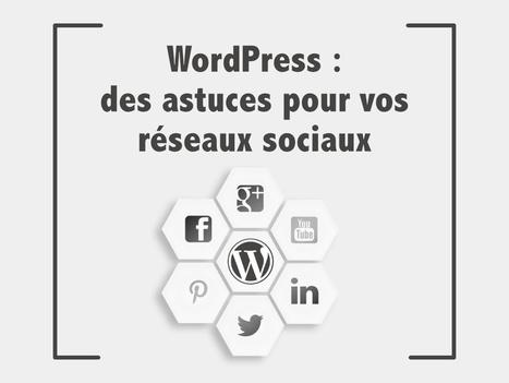 WordPress : 7 astuces pour vos réseaux sociaux | Internet world | Scoop.it