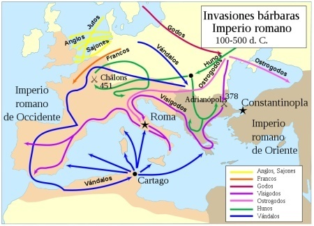 El Legado Romano y La Romanización De Hispania: LA DISOLUCIÓN DEL IMPERIO OCCIDENTAL | Las Invasiones Bárbaras | Scoop.it