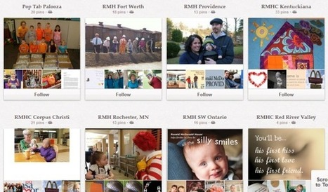 28 Creative Pinboard Ideas From Real Brands on Pinterest | Pinterest for Business | Scoop.it