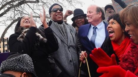 Detroit street renamed to honor Motown legend Stevie Wonder | ☊ ☊ Harmony60 Music ☊ ☊ | Scoop.it