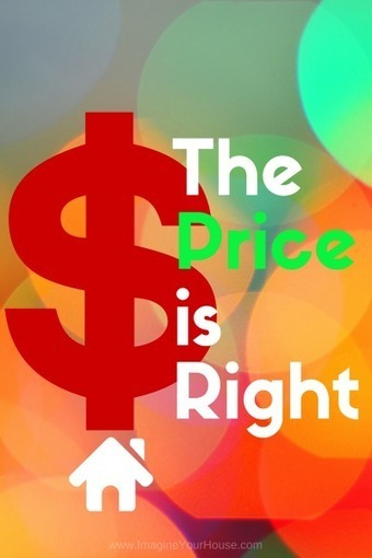 """""""Come on Down"""" to price a home like The Price is Right Game Show - Really? 