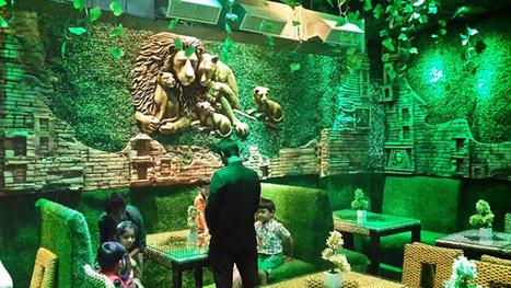 Theme Jungle jungle theme restaurant' in interior designing services | scoop.it