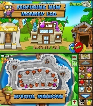 Download Bloons Tower Defense 5 Apk [Bloons TD