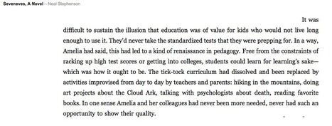 Will It Take An Apocalypse? | Tech Pedagogy | Scoop.it