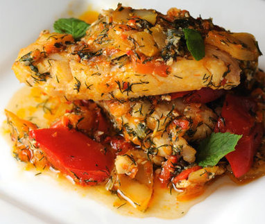 African fish with gourmet smoortjie recipe co for Gourmet fish recipes