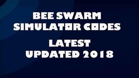 Bee Swarm Simulator Codes 2018 - codes for roblox bee swarm simulator 2018