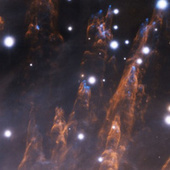"""The Orion Nebula fires """"bullets"""" the size of our solar system   Science is Cool!   Scoop.it"""