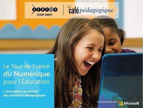 Tour de France numérique pour l'Education   Insegnamento italiano in Francia   Scoop.it