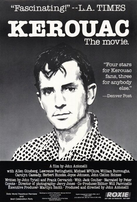 [video] Kerouac, the Movie: The Brief Literary Life of Jack Kerouac, As Told By Allen Ginsberg, William S. Burroughs & Friends   Poezibao   Scoop.it