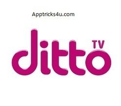 How to activate ditto tv one year premium subscription for free.