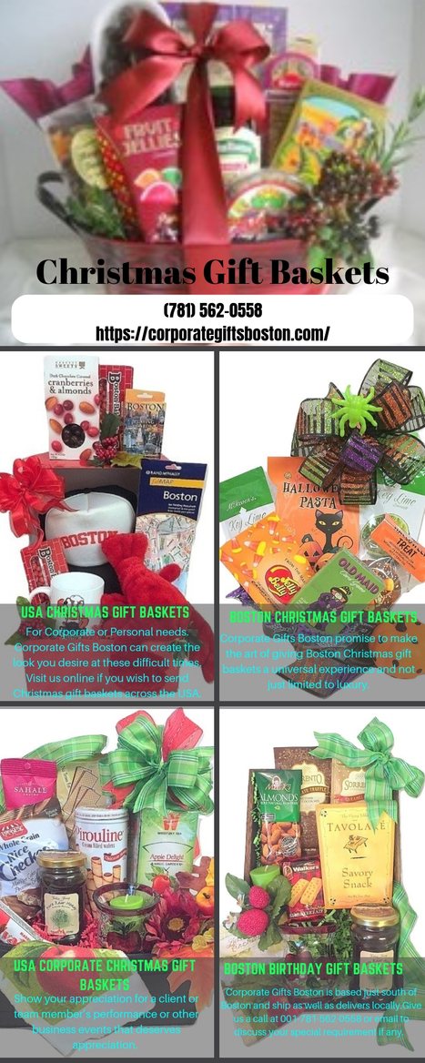 Send Professional Christmas Gift Baskets To The USA For Clients Team Members