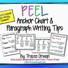 """Common Core Writing """"PEEL"""" Anchor Chart - Tracee Orman 
